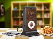 Зарядки для кафе,  ресторанов - power bank menu